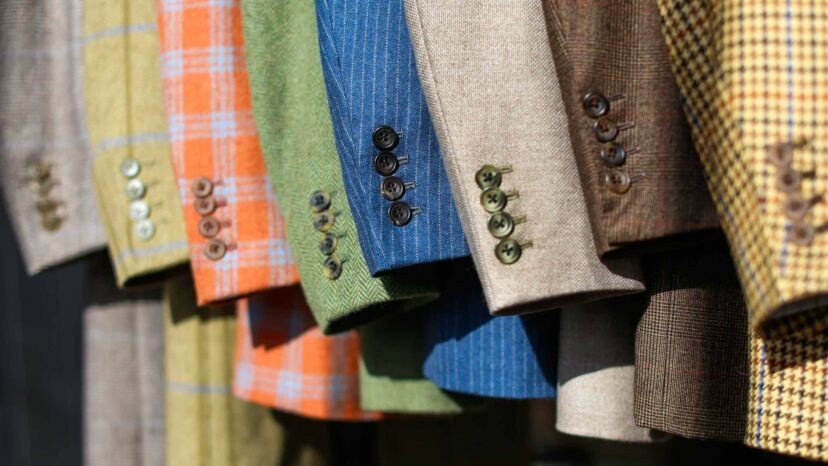 cad and the dandy tweed suits