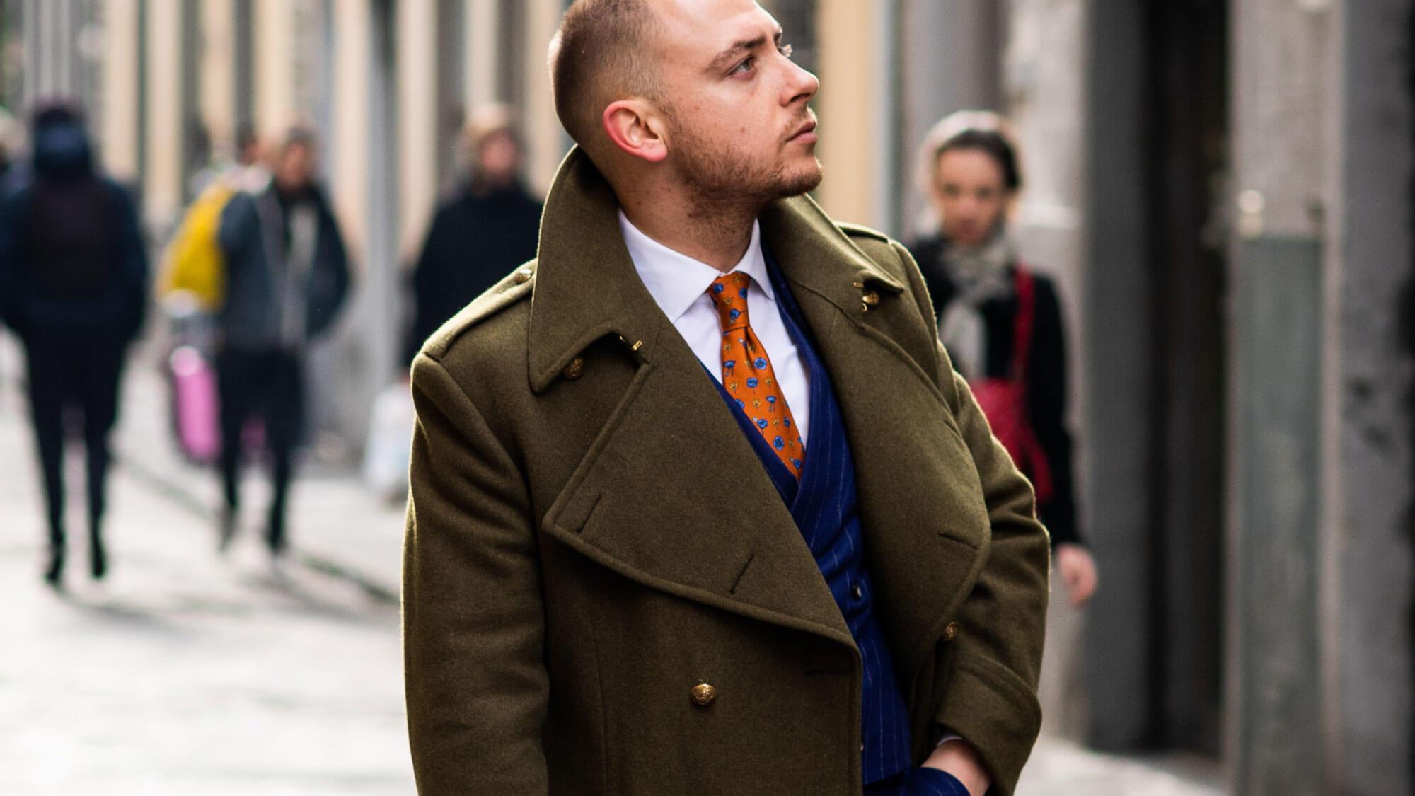 Bespoke Tailored Overcoat