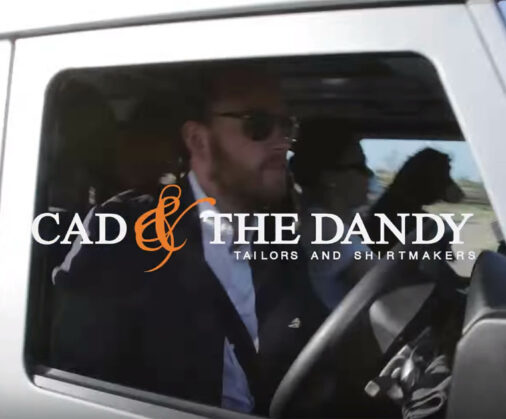 cad and the dandy behind the scenes video