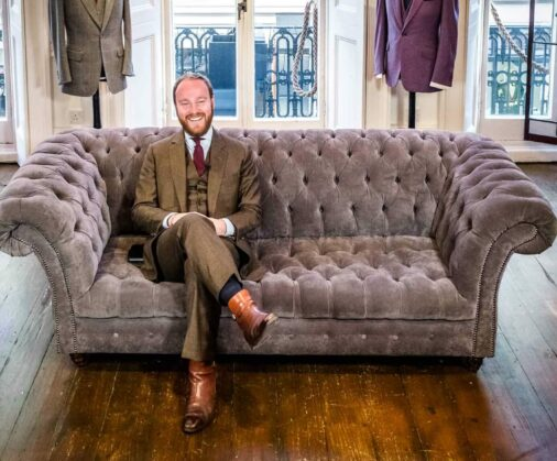 james sleater cad and the dandy savile row
