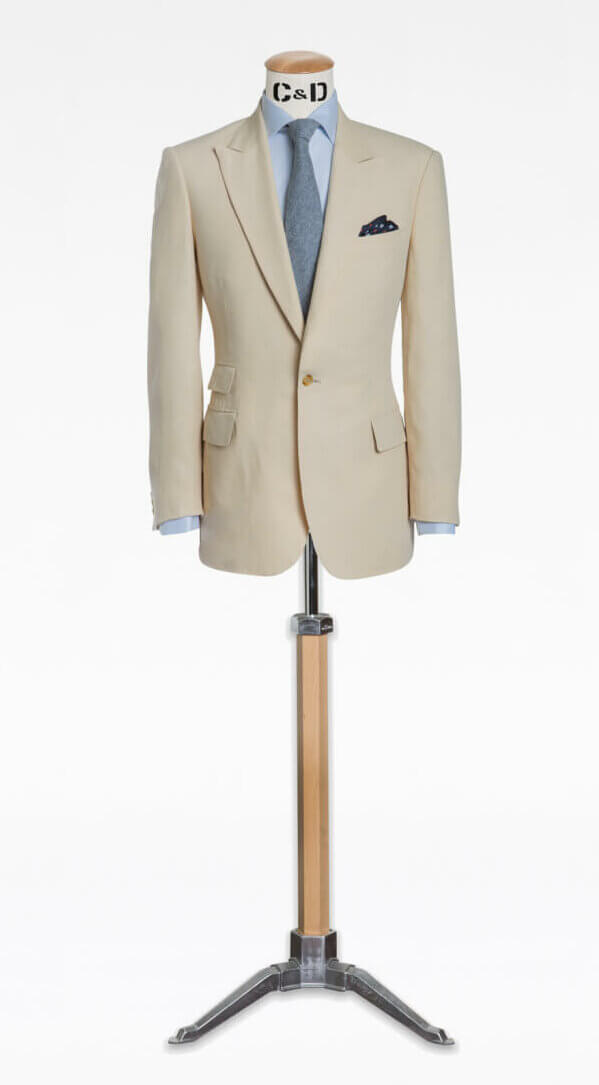 cad and the dandy linen jacket