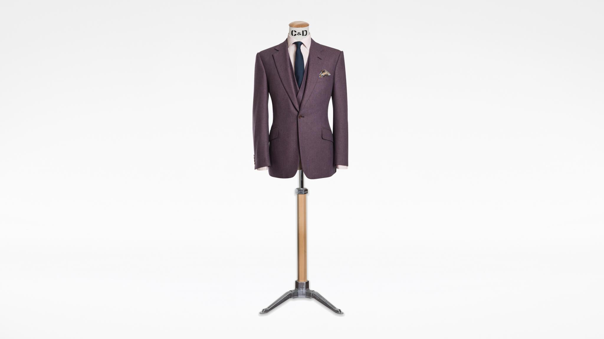 Bespoke Cashmere Suit
