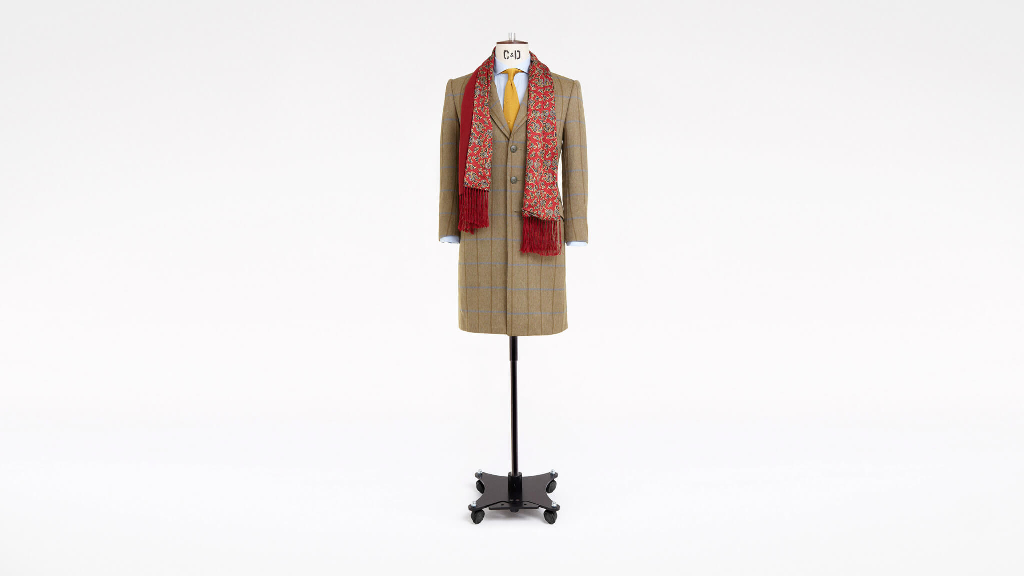 Bespoke Tweed Overcoat