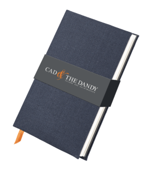 Cad & The Dandy Cloth Bound Birdseye Notebook