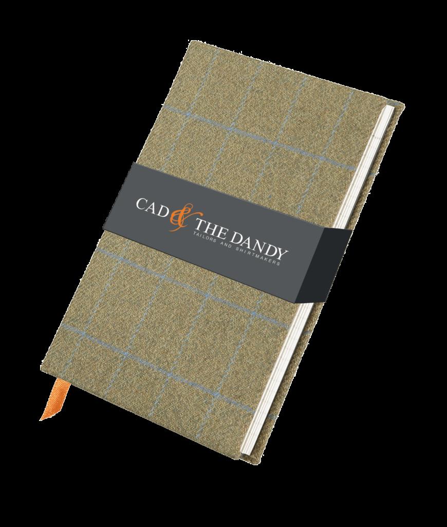 Cad & The Dandy Cloth Bound Tweed Notebook
