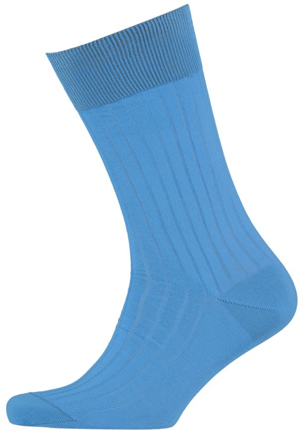 menswear-socks-cotton-ribbed-sky-blue-1