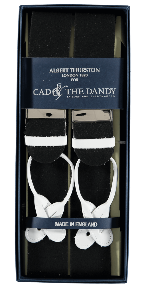 Cad & The Dandy Albert Thurston Black Braces