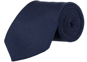 Cad & The Dandy Gainsborough Wool Tie in Navy