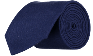 Cad & The Dandy Gainsborough Wool Tie in Indigo