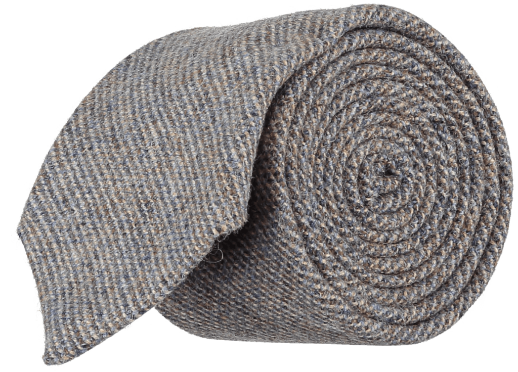 Cad & The Dandy Forest Wool Tie in Shale