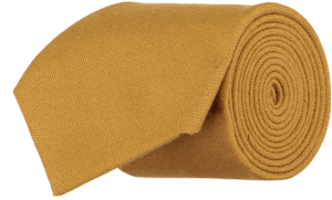 Cad & The Dandy Gainsborough Wool Tie in Gold