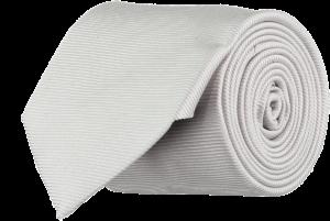 Cad & The Dandy Silk Twill Tie in Dove Grey