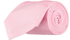 Cad & The Dandy Silk Twill Tie in Pink