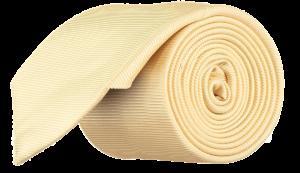 Cad & The Dandy Silk Twill Tie in Primrose Yellow