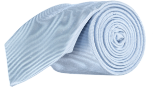Cad & The Dandy Silk Twill Tie in Powder Blue