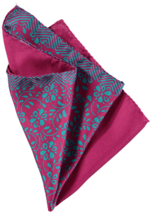 Cad & The Dandy Floral Silk Pocket Square