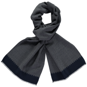 wool-scarf-herringbone-grey-blue