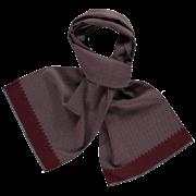 wool-scarf-herringbone-grey-burgundy