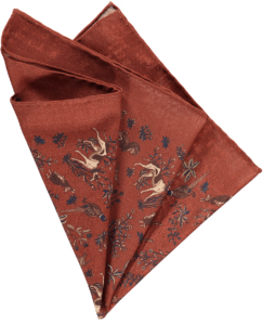 rust-fauna-pocket-square