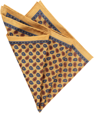 gold-floral-pocket-square