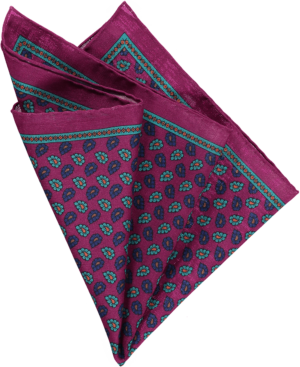 cerise-floral-pocket-square