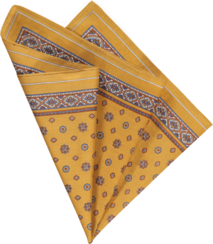 cotton-pocket-square-mustard-foulard