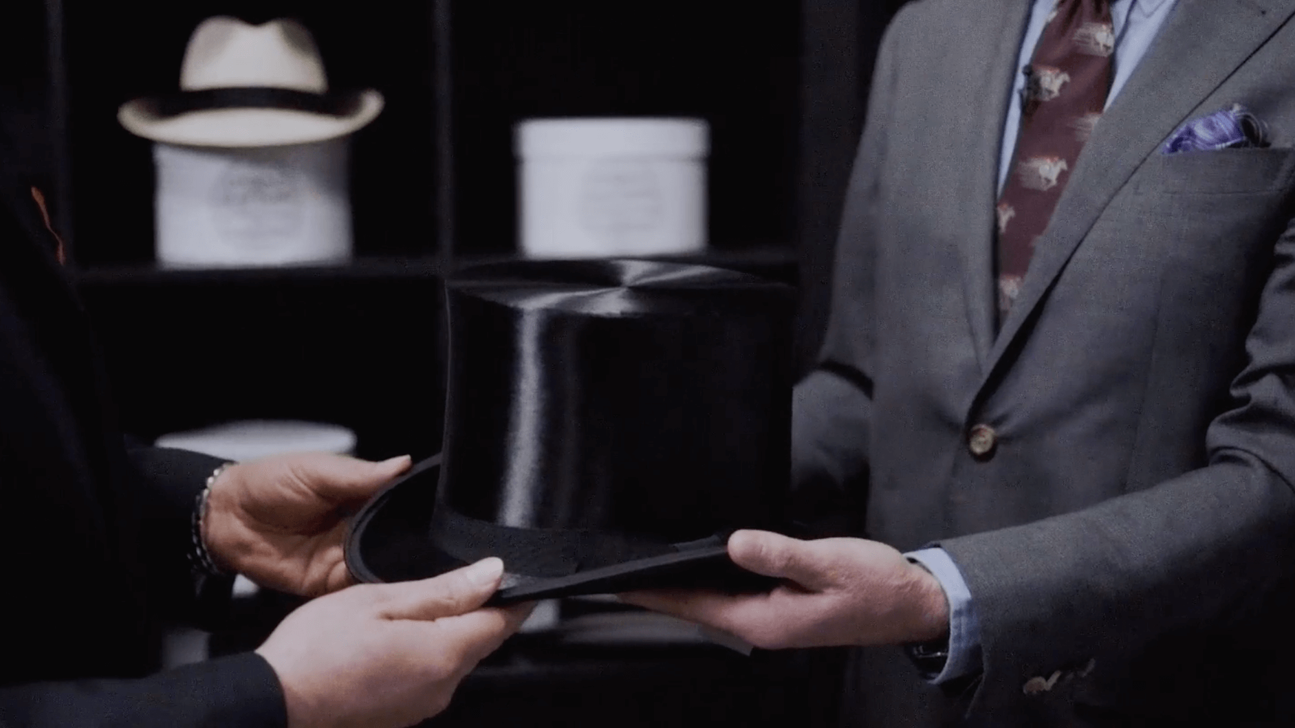 black-silk-top-hat