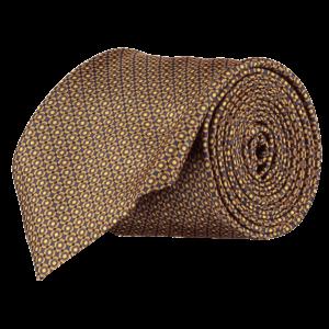 Italian-Silk-Floral-Tie-0096-Rolled