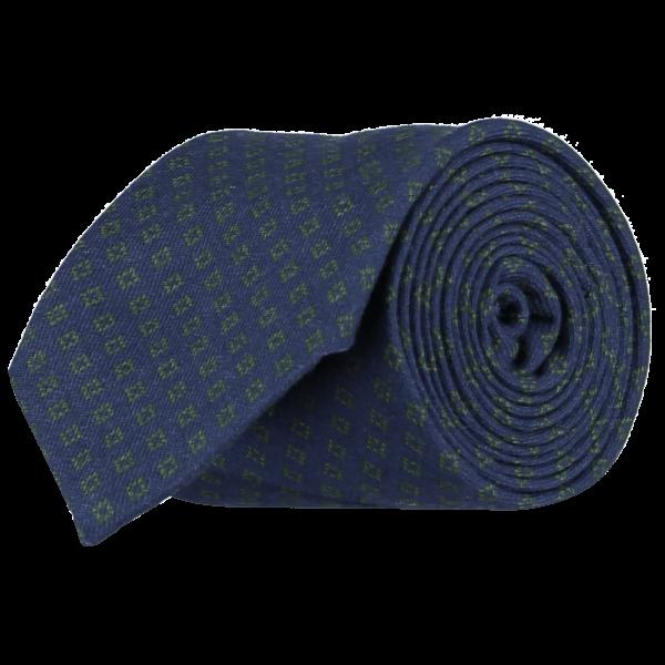 Italian-Cotton-Wool-Tie-0095-Rolled