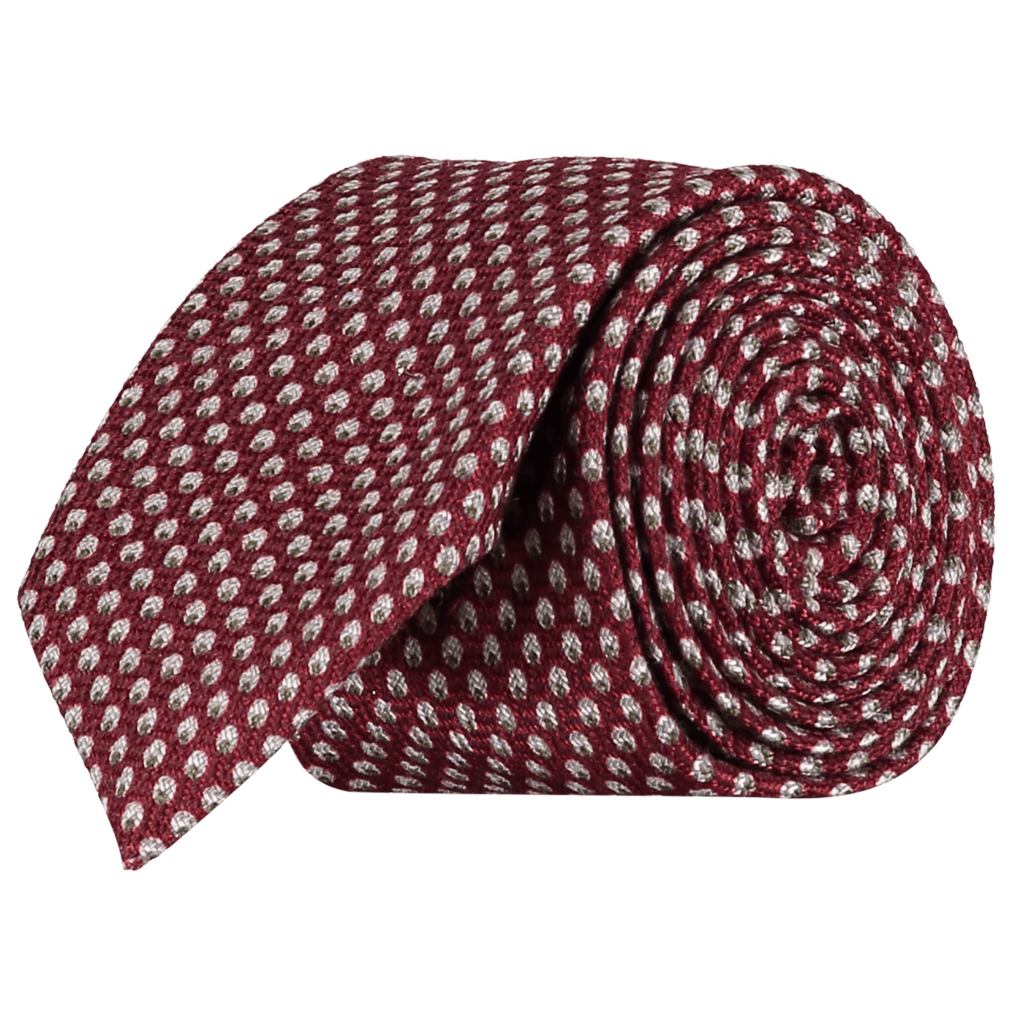 Italian-Wool-Silk-Tie-0093-Rolled