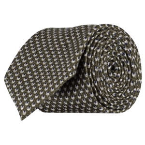 Italian-Wool-Silk-Tie-0092-Rolled