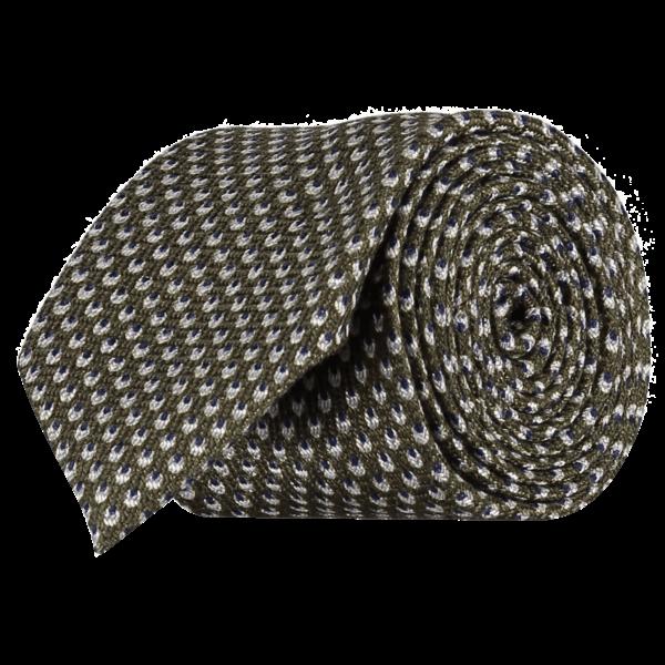 Italian-Wool-Silk-Tie-0092-Rolled