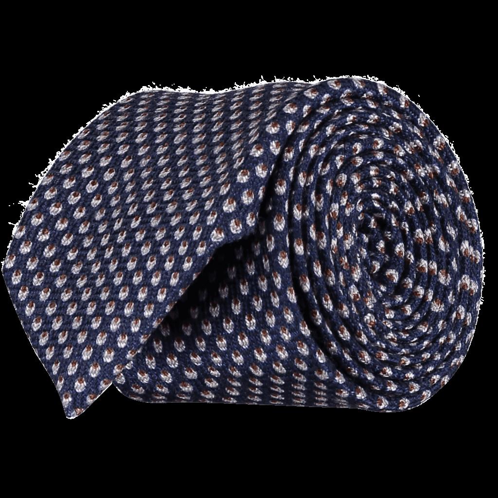 Italian-Wool-Silk-Tie-0091-Rolled