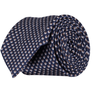 Italian-Wool-Silk-Tie-0091-Rolled