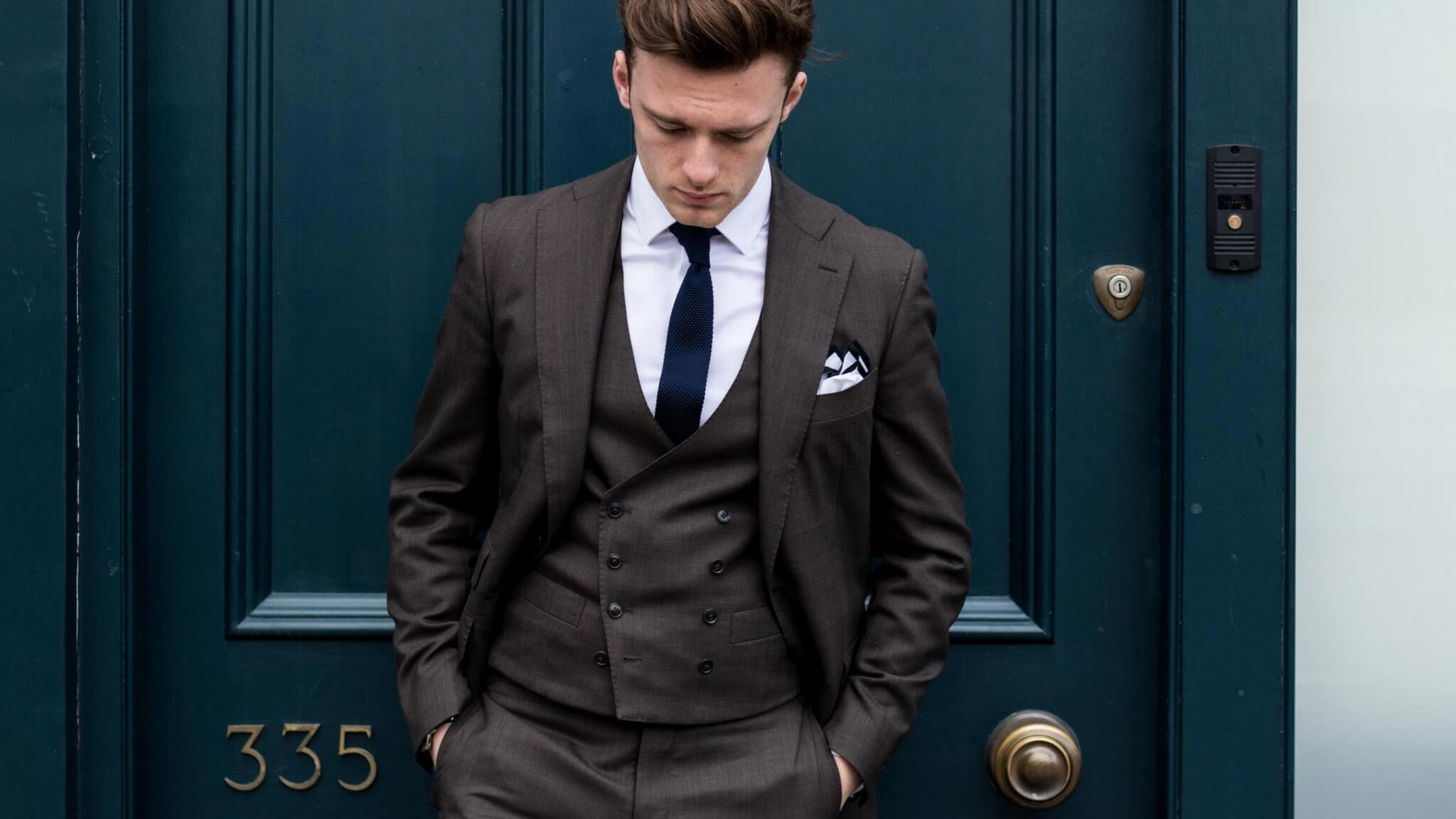 Savile Row Tailored Business Suit