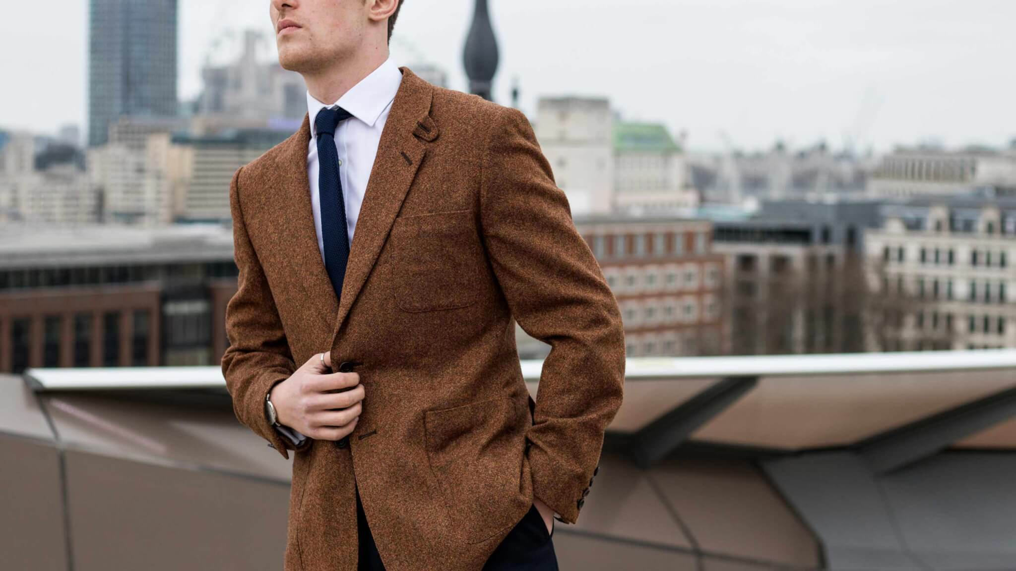 Bespoke Tweed Jacket Savile Row