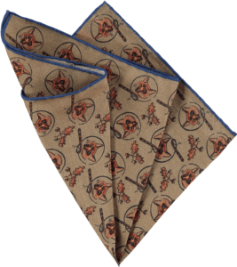 silk-pocket-square-foxes-camel-folded