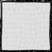 silk-spotted-pocket-square-black-white