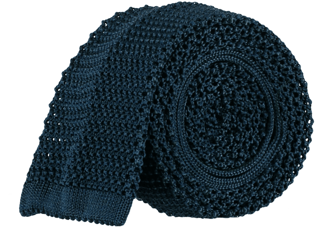 silk-knitted-tie-marine-blue
