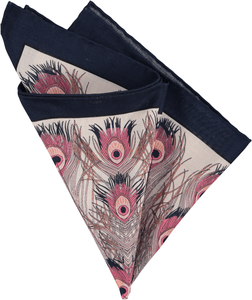 feather-pocket-square-rose