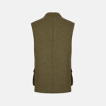 Green Wool Gilet