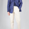 Linen Safari Jacket – Denim Blue