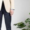 Cotton Trouser Dark Navy