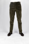 Olive Green Cord Trouser