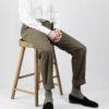 Sage Green Canvas Trouser