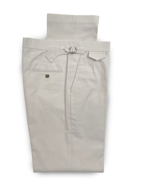 Canvast Trousers – Natural
