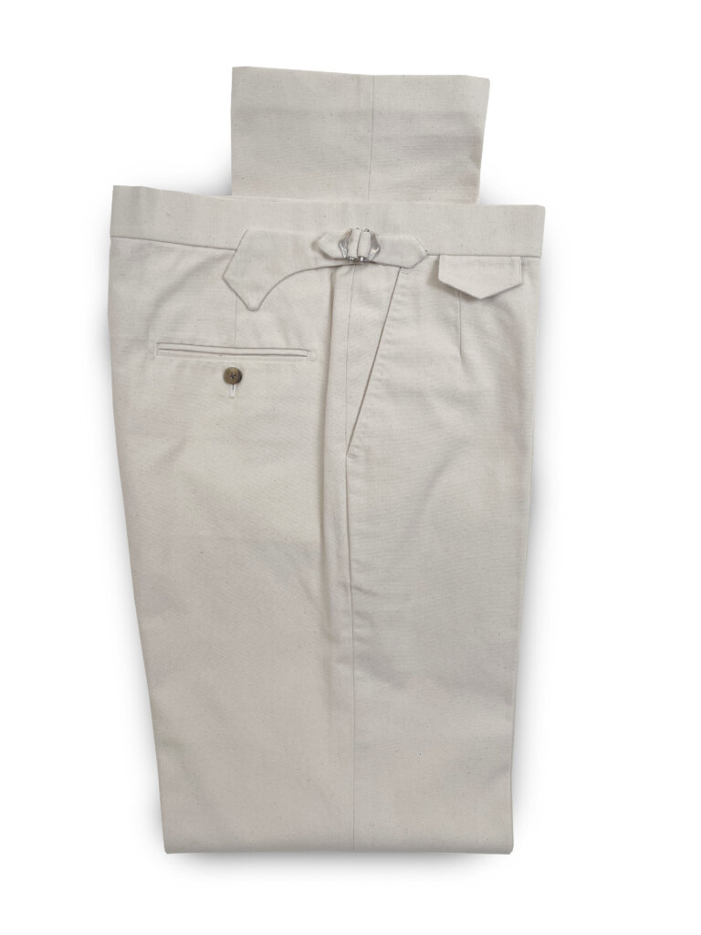 Canvast Trousers - Natural