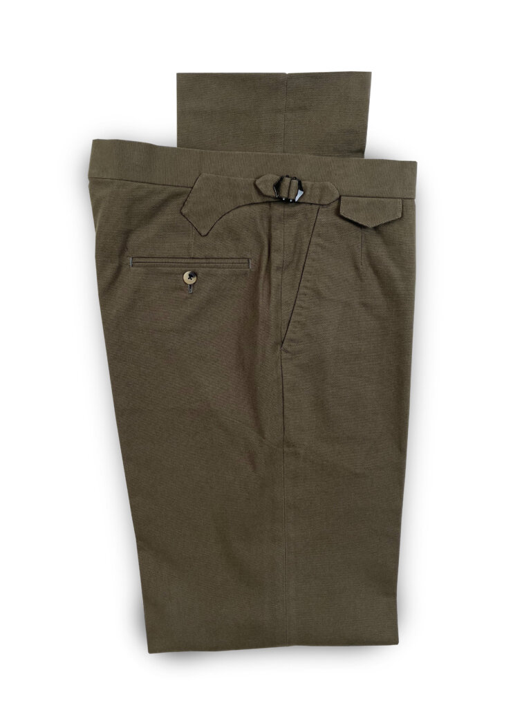 Canvas Trouser - Sage Green