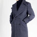 Prussian Blue Great Coat