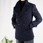 Heritage Twill Pea Coat